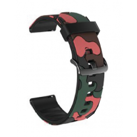 Camouflage Red Green
