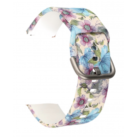Silicone Blue Floral