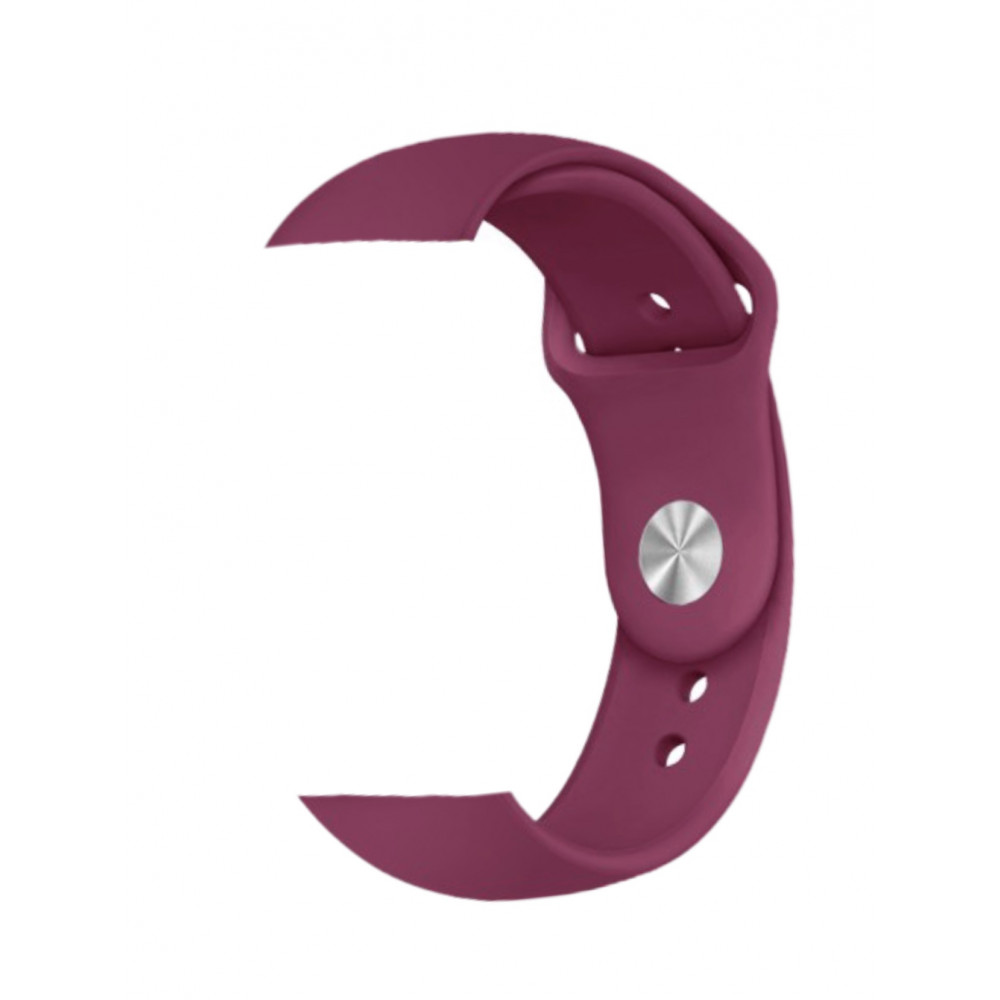 Silicone wine red